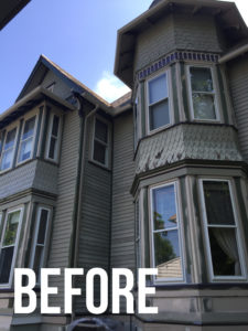 exterior residential painting company, Mark's painting and design