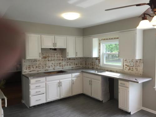Cabinet Painting in sewell nj